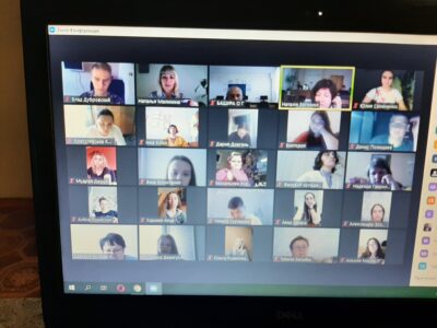 """May 27, 2021 An online conference was held for students of the Professional College of NUPh to study at NUPh for OPP """"Marketing"""""""